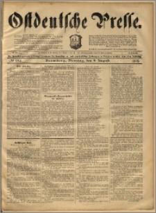 Ostdeutsche Presse. J. 22, 1898, nr 184