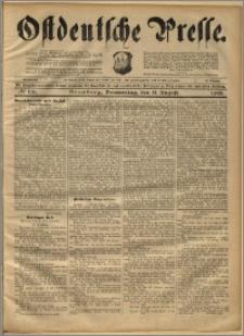Ostdeutsche Presse. J. 22, 1898, nr 186