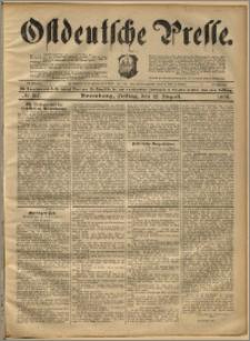 Ostdeutsche Presse. J. 22, 1898, nr 187