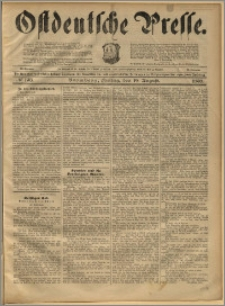 Ostdeutsche Presse. J. 22, 1898, nr 193