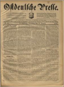 Ostdeutsche Presse. J. 22, 1898, nr 195