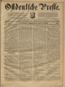 Ostdeutsche Presse. J. 22, 1898, nr 198