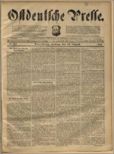 Ostdeutsche Presse. J. 22, 1898, nr 199