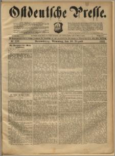 Ostdeutsche Presse. J. 22, 1898, nr 202