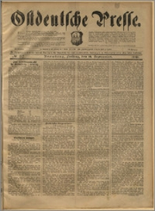 Ostdeutsche Presse. J. 22, 1898, nr 217