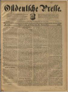 Ostdeutsche Presse. J. 22, 1898, nr 223