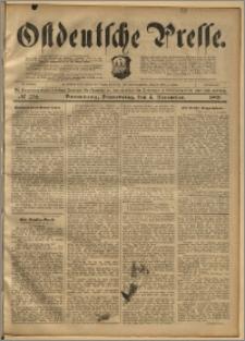 Ostdeutsche Presse. J. 22, 1898, nr 258