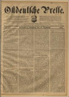Ostdeutsche Presse. J. 22, 1898, nr 302