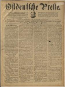 Ostdeutsche Presse. J. 23, 1899, nr 1