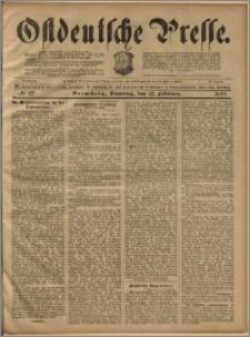 Ostdeutsche Presse. J. 23, 1899, nr 37