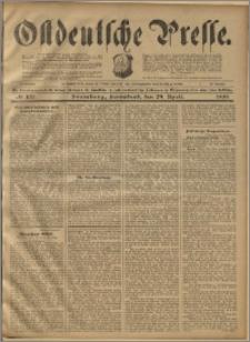 Ostdeutsche Presse. J. 23, 1899, nr 100