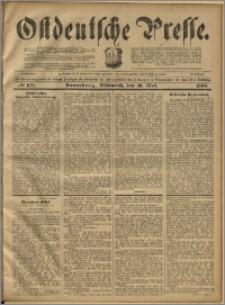 Ostdeutsche Presse. J. 23, 1899, nr 109