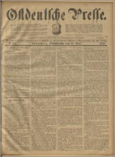 Ostdeutsche Presse. J. 23, 1899, nr 122