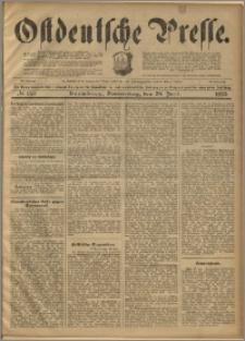 Ostdeutsche Presse. J. 23, 1899, nr 150
