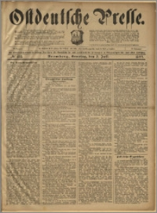 Ostdeutsche Presse. J. 23, 1899, nr 153