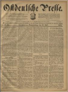 Ostdeutsche Presse. J. 23, 1899, nr 162