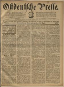Ostdeutsche Presse. J. 23, 1899, nr 168