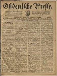 Ostdeutsche Presse. J. 23, 1899, nr 174