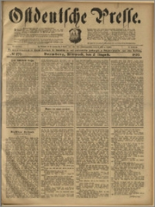 Ostdeutsche Presse. J. 23, 1899, nr 179