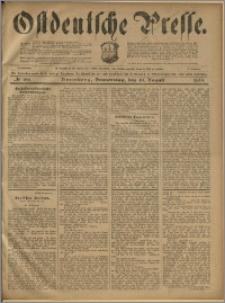 Ostdeutsche Presse. J. 23, 1899, nr 186
