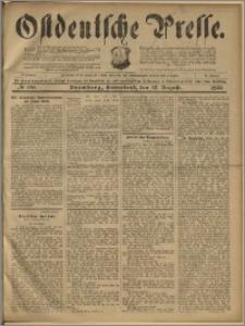 Ostdeutsche Presse. J. 23, 1899, nr 188