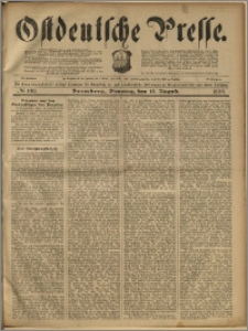 Ostdeutsche Presse. J. 23, 1899, nr 190