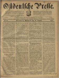 Ostdeutsche Presse. J. 23, 1899, nr 191
