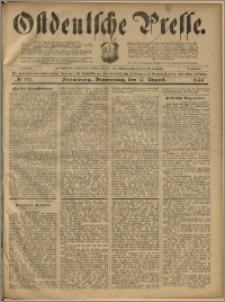 Ostdeutsche Presse. J. 23, 1899, nr 192