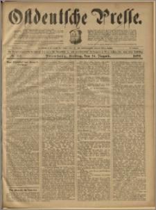 Ostdeutsche Presse. J. 23, 1899, nr 193