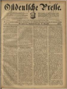 Ostdeutsche Presse. J. 23, 1899, nr 194