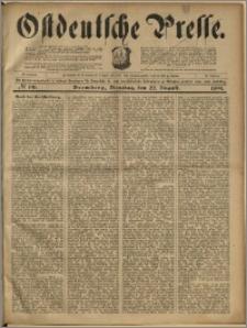 Ostdeutsche Presse. J. 23, 1899, nr 196