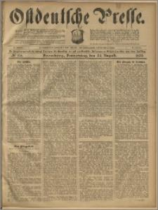 Ostdeutsche Presse. J. 23, 1899, nr 198