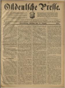 Ostdeutsche Presse. J. 23, 1899, nr 199