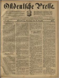 Ostdeutsche Presse. J. 23, 1899, nr 202