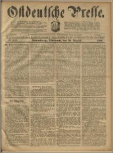 Ostdeutsche Presse. J. 23, 1899, nr 203