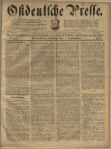 Ostdeutsche Presse. J. 23, 1899, nr 205