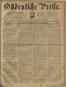 Ostdeutsche Presse. J. 23, 1899, nr 209