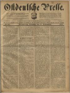 Ostdeutsche Presse. J. 23, 1899, nr 213