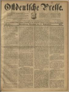 Ostdeutsche Presse. J. 23, 1899, nr 214