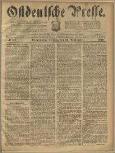 Ostdeutsche Presse. J. 23, 1899, nr 217