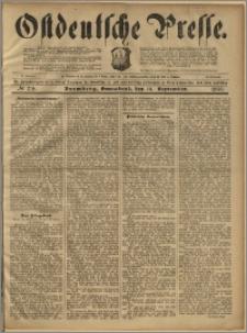 Ostdeutsche Presse. J. 23, 1899, nr 218