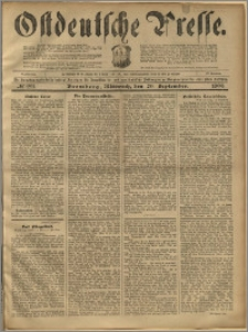 Ostdeutsche Presse. J. 23, 1899, nr 221