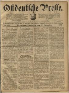 Ostdeutsche Presse. J. 23, 1899, nr 222