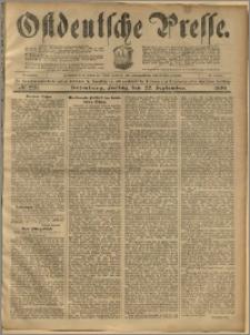 Ostdeutsche Presse. J. 23, 1899, nr 223