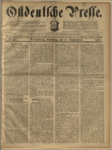 Ostdeutsche Presse. J. 23, 1899, nr 225