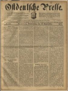 Ostdeutsche Presse. J. 23, 1899, nr 228