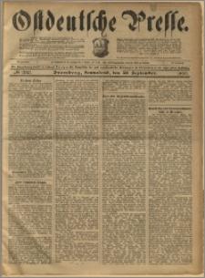 Ostdeutsche Presse. J. 23, 1899, nr 230