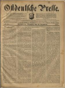 Ostdeutsche Presse. J. 23, 1899, nr 291