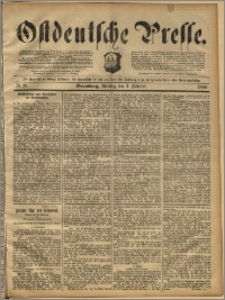 Ostdeutsche Presse. J. 14, 1890, nr 28
