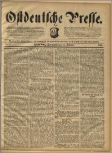 Ostdeutsche Presse. J. 14, 1890, nr 39